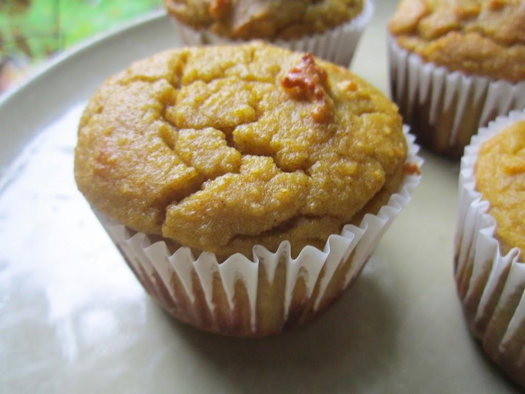 Bracken's Birthday Muffins: Almond Flour Butternut Squash ...