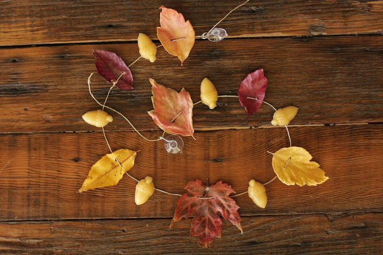 Fall Beeswax Leaves {Tutorial}