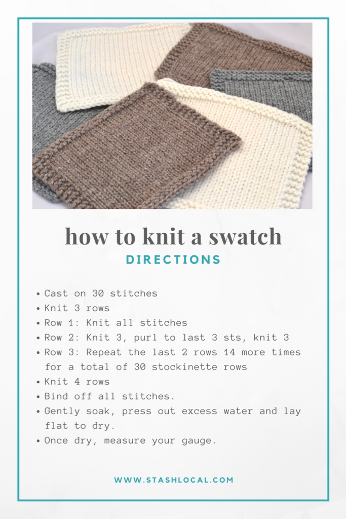how to knit a swatch (1)