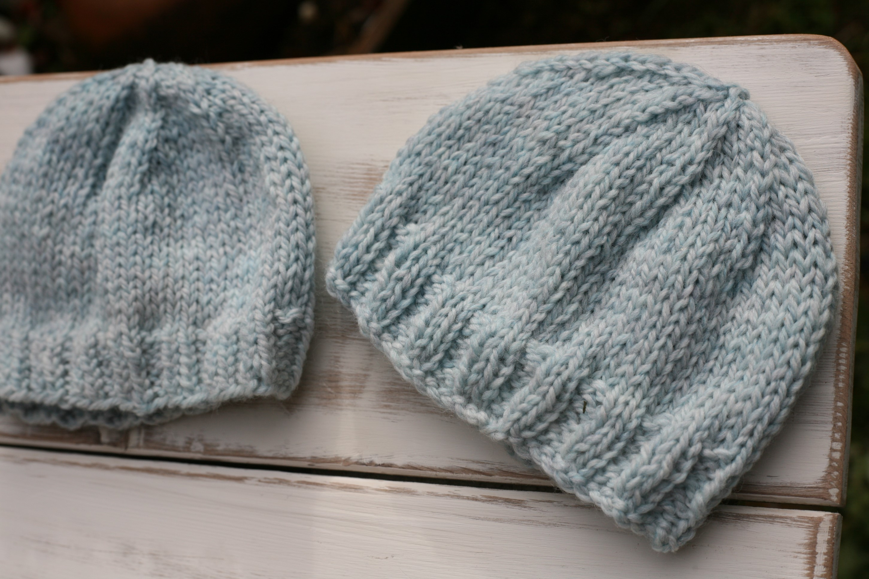 A few winter knitting projects… baby hats. The first was a hat for my  nephew born in December. I knit him a little hat with two strands of  handspun angora ... 8dd794955f23