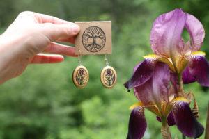 Seasonal Offering: Iris Earrings